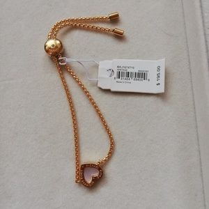 Michale kors heritage pave bracelet